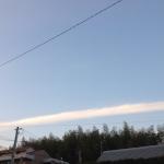 地震雲 No.636
