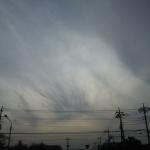 地震雲 No.3667