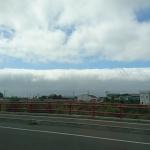 地震雲でしょうか?