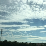地震雲ですか?愛知県