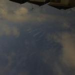 地震雲ですか??