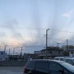 地震雲ですか?