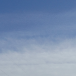 波状雲がでておりました(南側)